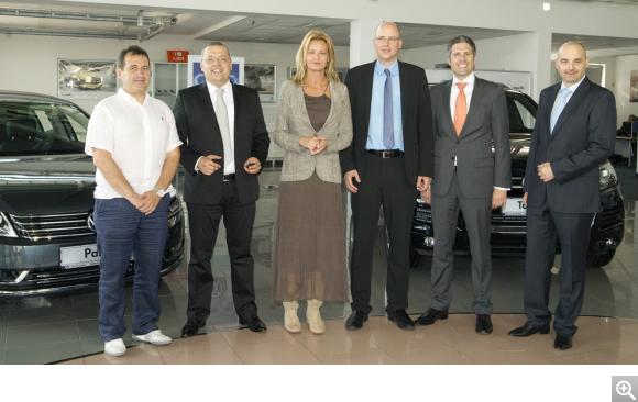 Volkswagen отново подкрепя Българския олимпийски комитет