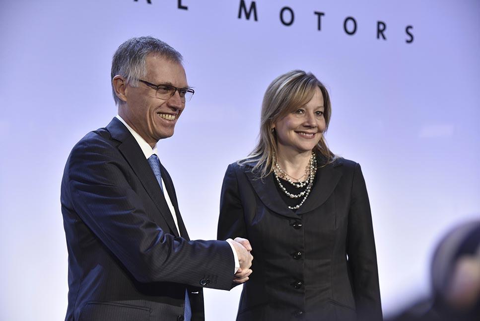 Карлос Таварес и Мери Бара, CEO GM